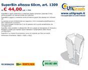 1309 SUPERBIN ALTEZZA 60CM..