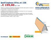 1336 SPORTX LUNGHEZZA 195CM..