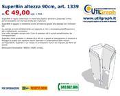 1339 SUPERBIN ALTEZZA 90CM..