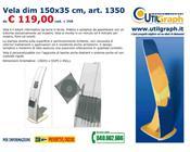 1350 VELA DIM.150X35CM..