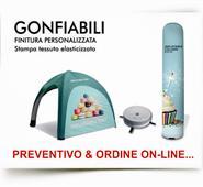 GONFIABILI indoor/outdoor