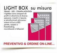 LIGHTBOX SU MISURA