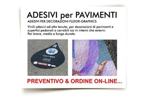 ADESIVI PAVIMENTI INDOOR e OUTDOOR