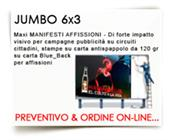JUMBO 6X3MT CARTA BLUEBACK 120...