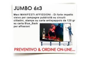 JUMBO 6x3mt Carta Blueback 120 gr ..